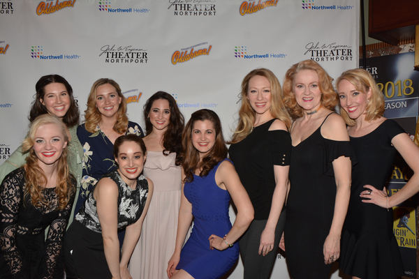 Kaitlin Nelson, Kaitlyn Mayse, Brianne Kennedy, Sari Alexander, Meghan Nicole Ross, Kim McClay, Kaitlyn Davidson, Jane Blass and Kelly Sheehan