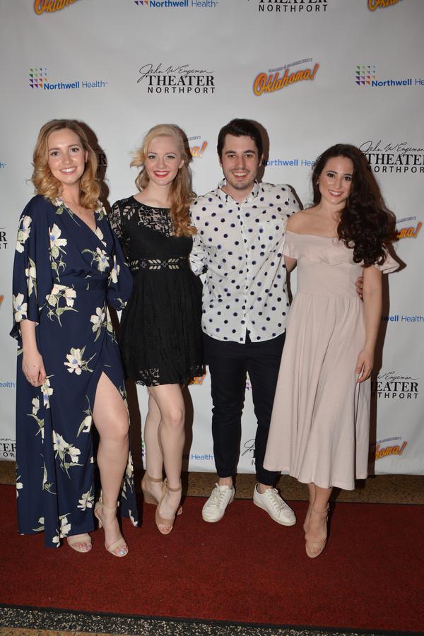 Brianne Kennedy, Kaitlin Nelson, Tyler Huckstep and Meghan Nicole Ross