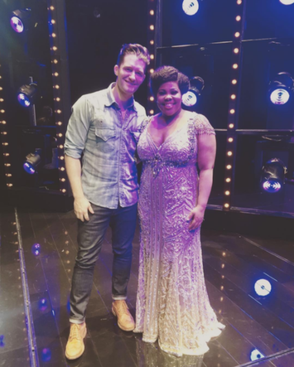 Matthew Morrison and Amber Riley