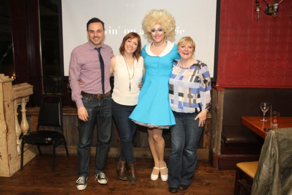 Photo Flash: Broadway's Pamela Bob Screens Original TV Series LIVIN' ON A PRAIRIE