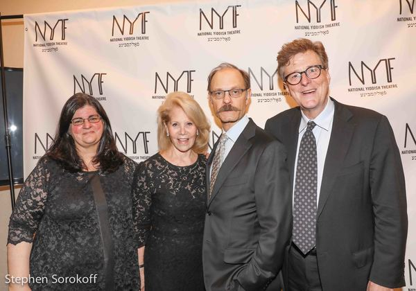 Barbara Anselmi, Daryl Roth, David Hyde Pierce, Brian Hargrove