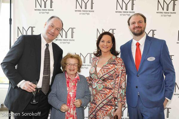 Jeffrey S. Wiesenfeld, Chairman, Dr. Ruth, Karen Leland, Chris Massimine, CEO Photo