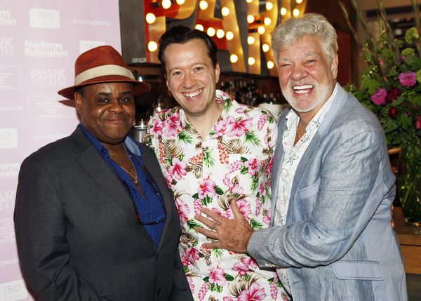 Clive Rowe, Jez Bond and Matthew Kelly