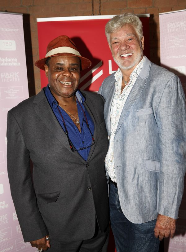 Clive Rowe and Matthew Kelly