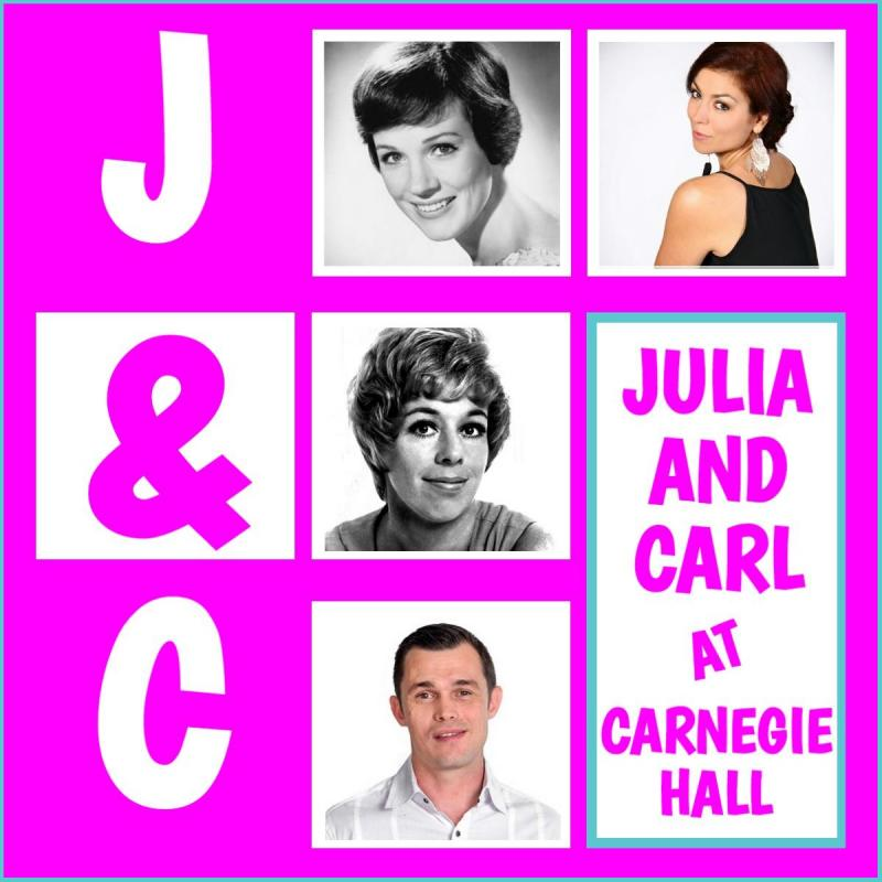 Song, Dance and Comedy to Collide in JULIA AND CARL AT CARNEGIE HALL at Alexander Upstairs