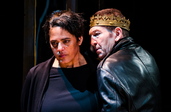 Photo Flash: First Look at Greg Hicks in RICHARD III, Opening Tonight at the Arcola