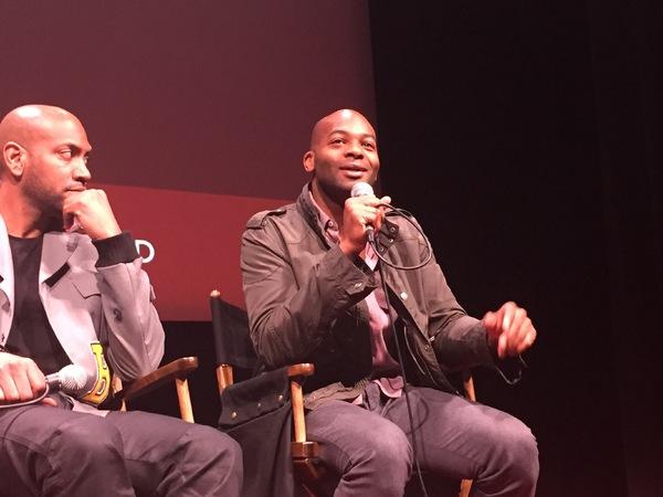 Bryan Terrell Clark and Brandon Victor Dixon