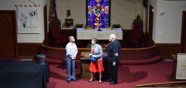 Cory Grabenstein, Rebecca Rosenberg, and Frank Benge  Photo