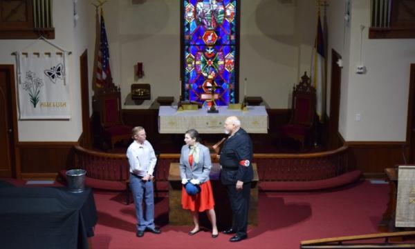 Cory Grabenstein, Rebecca Rosenberg, and Frank Benge