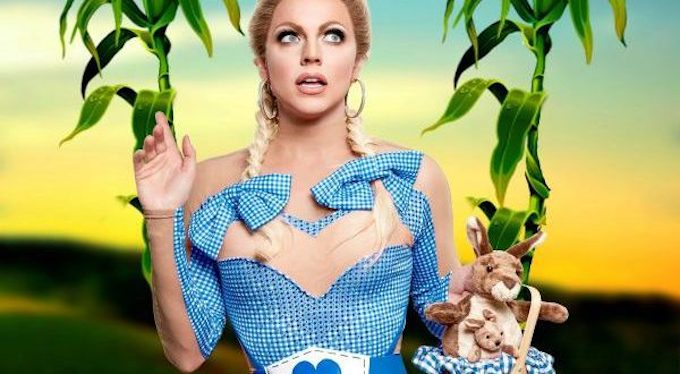 BWW Review: Courtney Act Glitters in THE GIRL FROM OZ at the Laurie Beechman