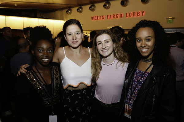 Bukola Ogunmola, Tessa Hope Slovis, Francesca O'Hern and Sidne Phillips Photo