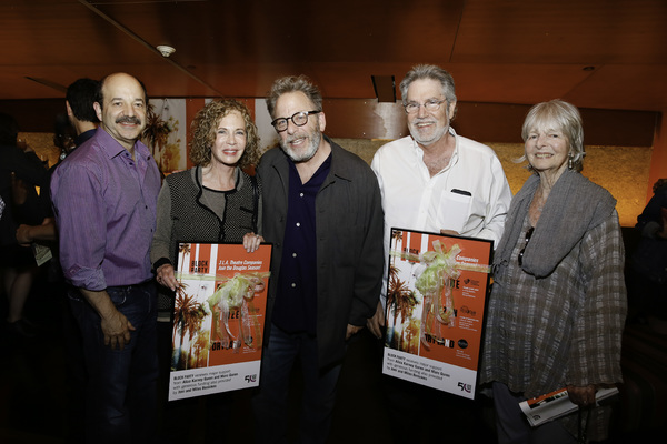 Photo Flash: DRY LAND Celebrates Opening Night as Part of 'Block Party' the Douglas