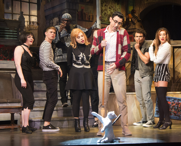 Photos: First Look at Max Crumm, Ann Morrison and More in the World Premiere of Glenn Slater and Wendy Wilf's BEATSVILLE at Asolo Rep
