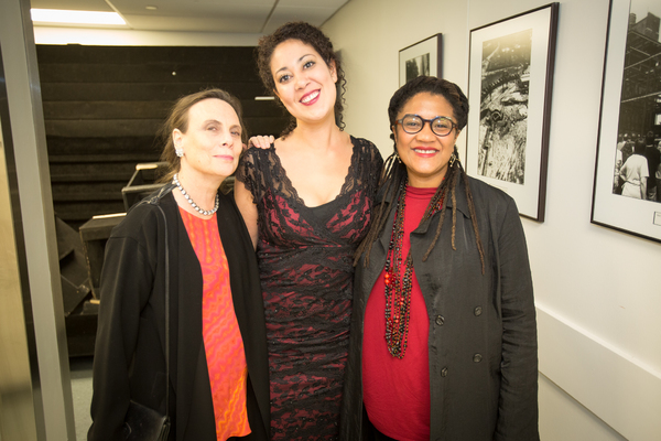 Emily Mann, Jade King Carroll and Lynn Nottage