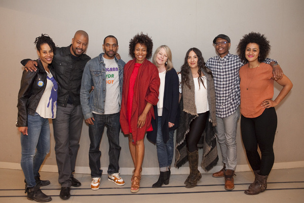 Photo Flash: Go Inside Rehearsal for Dominique Morisseau's PIPELINE at LCT