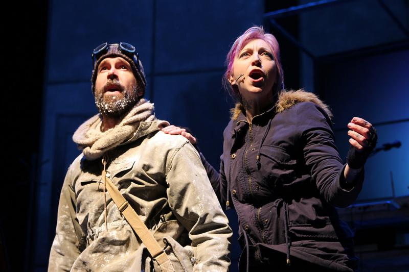BWW Review: Polar Opposites Explore Romance In ERNEST SHACKLETON LOVES ME