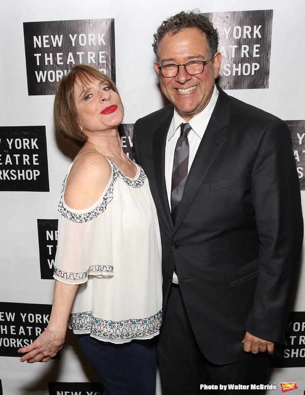 Patti LuPone and Michael Greif