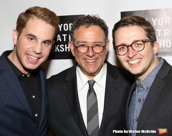 Ben Platt, Michael Greif and Will Roland