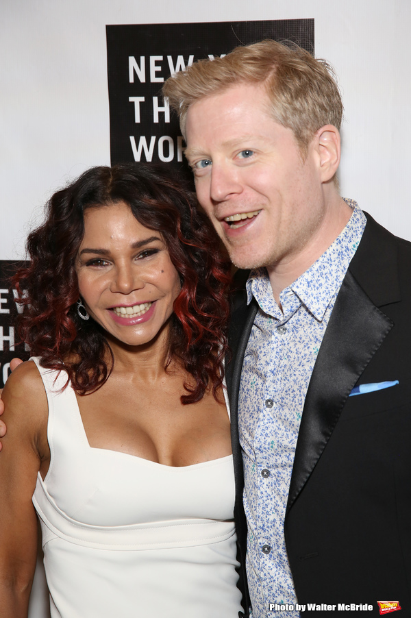 Daphne Rubin Vega and Anthony Rapp