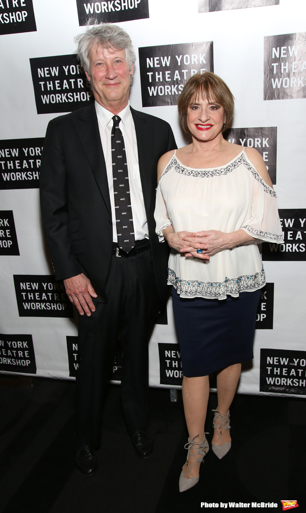 Matthew Johnston and Patti LuPone
