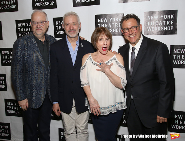 Doug Wright, Scott Frankel, Patti LuPone and Michael Greif