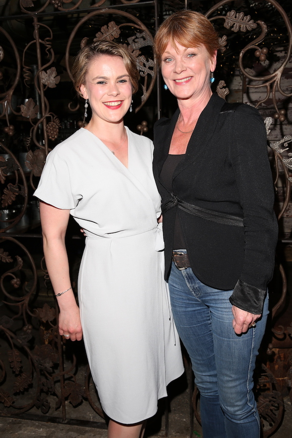 Molly Hanson and Samantha Bond