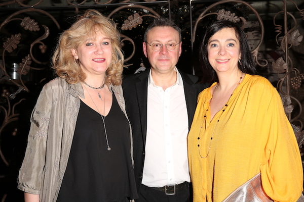 Sonia Friedman, Lee Hall and Vicky Featherstone
