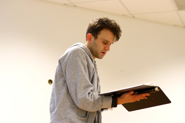 Photo Flash: In Rehearsals for the World Premiere of JAM at Finborough Theatre