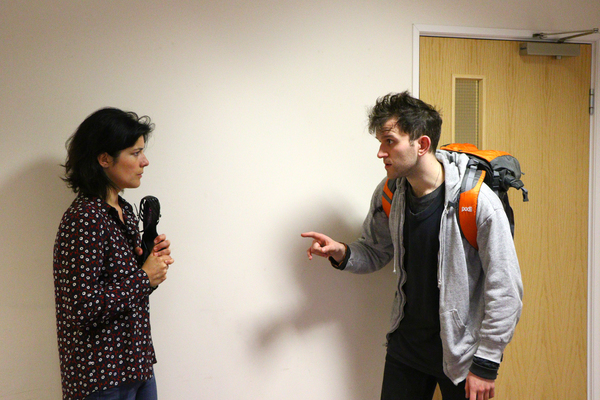Jasmine Hyde and Harry Melling Photo