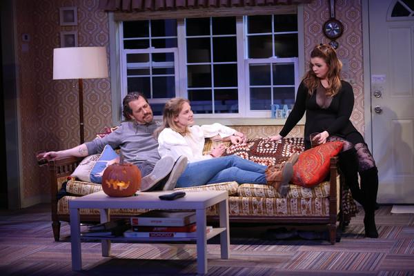 Darren Pettie, Ella Dershowitz and Amber Tamblyn