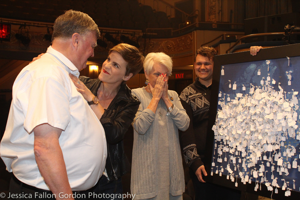 Claude Elliott, Jenn Colella and Beverly Bass