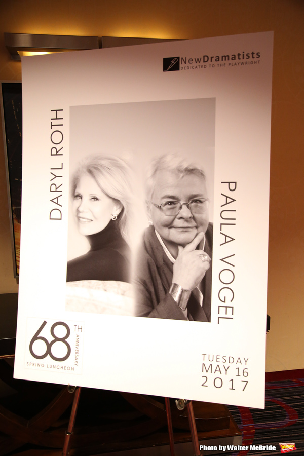 The New Dramatists' 68th Annual Spring Luncheon honoring Daryl Roth and Paula Vogel at the Marriott Marquis on May 16, 2017 in New York City.