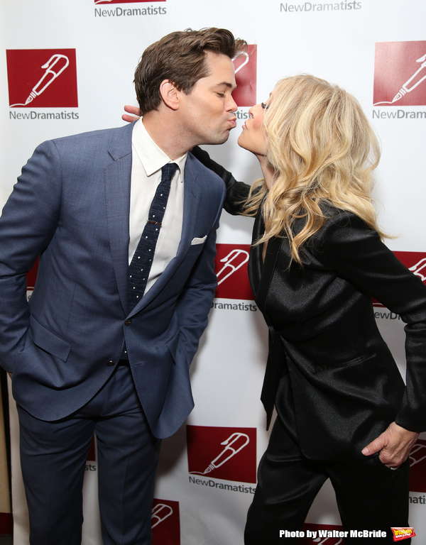 Andrew Rannells and Judith Light
