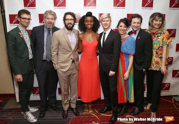 'The Great Comet': Sam Pinkleton, Dave Malloy, Josh Groban, Denée Benton, Lucas Steele, Rachel Chavkin, Bradley King, and Paloma Young