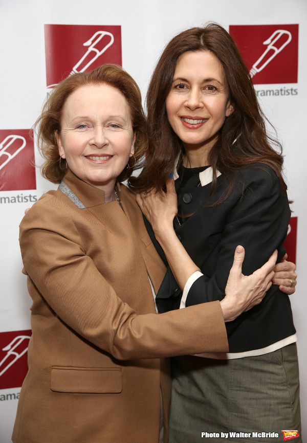 Kate Burton and Jessica Hecht