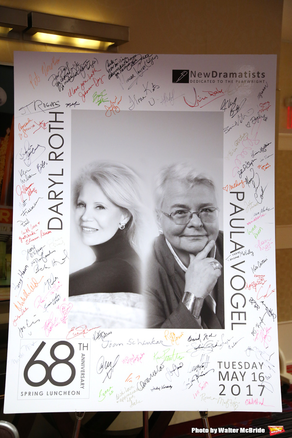 The New Dramatists' 68th Annual Spring Luncheon honoring Daryl Roth and Paula Vogel