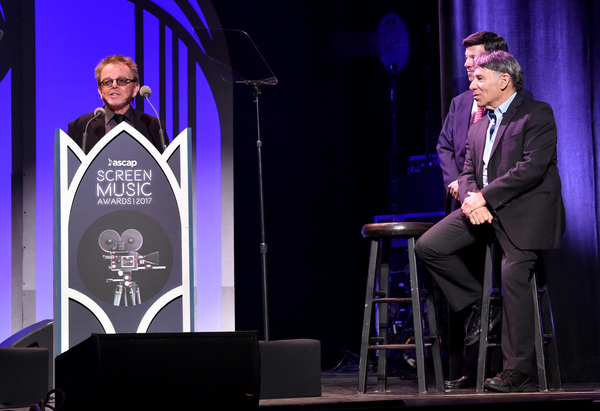 Photo Flash: Stephen Schwartz Honored at ASCAP Awards; Megan Hilty Performs 'Corner of the Sky'