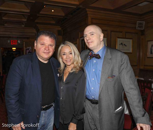 Bruce Charet, Eda Sorokoff, Will Friedwald Photo