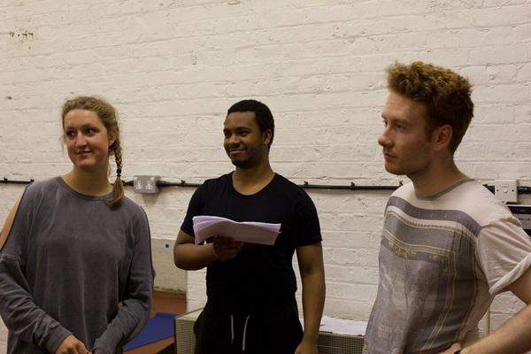 Georgina Morton, Corey Montague-Sholay and Liam Harkins