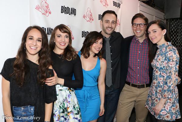 Kalli Siringas, Kara Lindsay, Krysta Rodriguez, Joe Kinosian, Frank DiLella, and Lena Hall