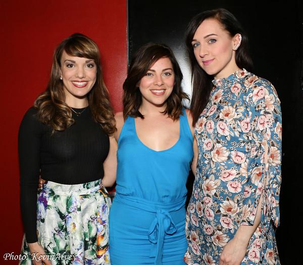 Kara Lindsay, Krysta Rodriguez, and Lena Hall