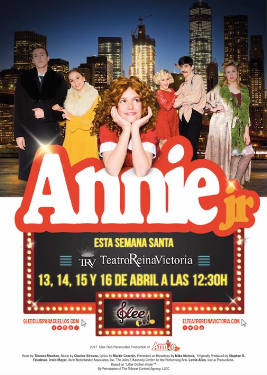El musical ANNIE JR regresa al Teatro Reina Victoria