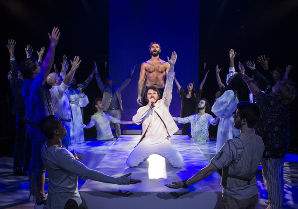 Photo Flash: First Look at Nicholas Edwards, Ari McKay Wilford, Natascia Diaz and More in JESUS CHRIST SUPERSTAR at Signature Theatre