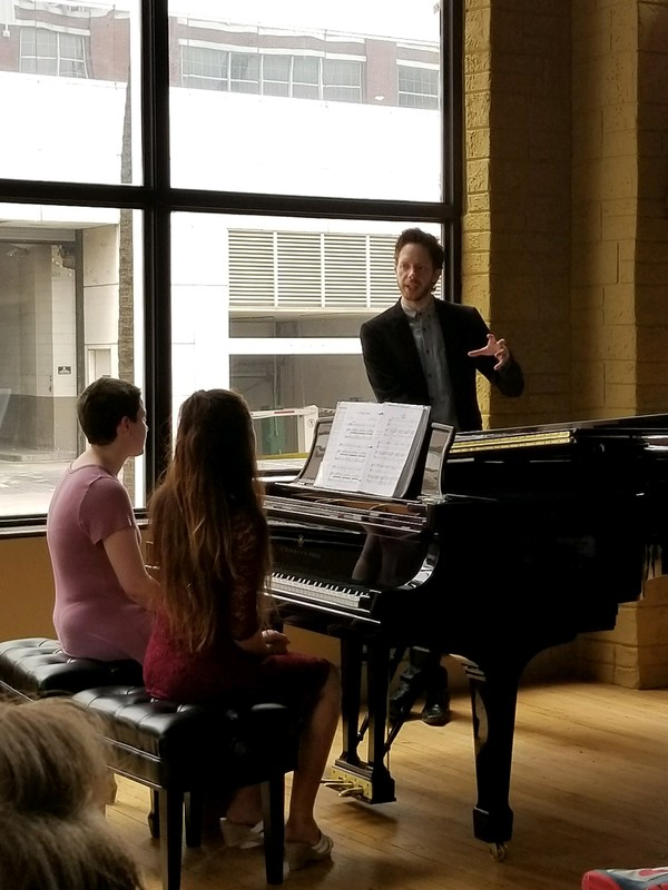 Photo Flash: Society for the Performing Arts Hosts Piano Master Class with The 5 Browns