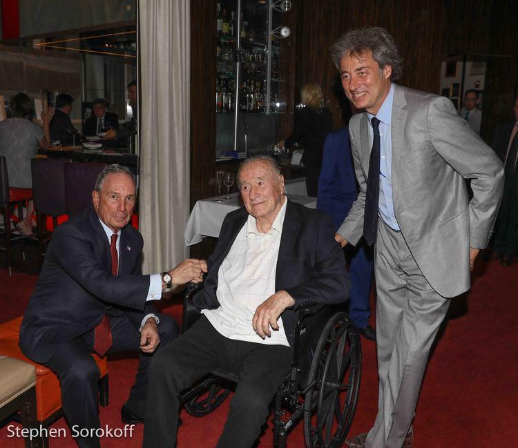 Mayor Michael Bloomberg, Sirio Maccioni, Marco Maccioni Hi-Res Photo ...