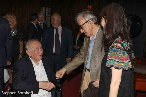 Sirio Maccioni & Woody Allen Photo