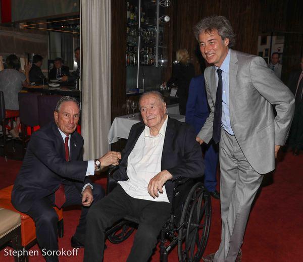 Mayor Michael Bloomberg, Sirio Maccioni, Marco Maccioni Photo