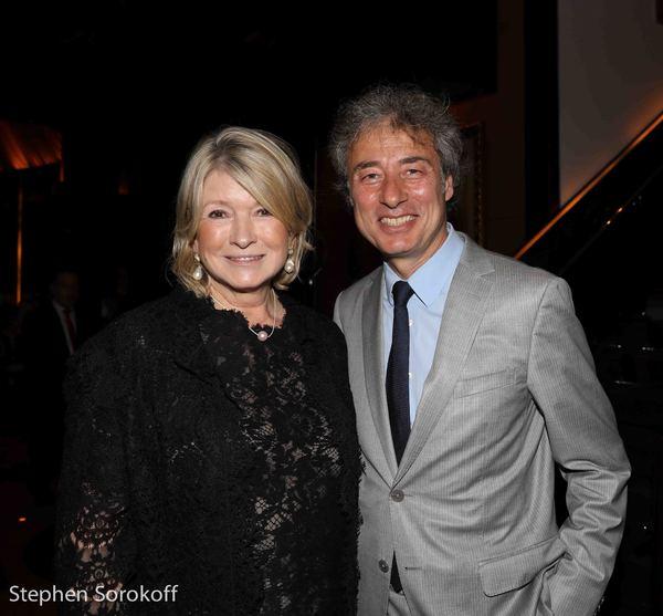Martha Stewart & Marco Maccioni