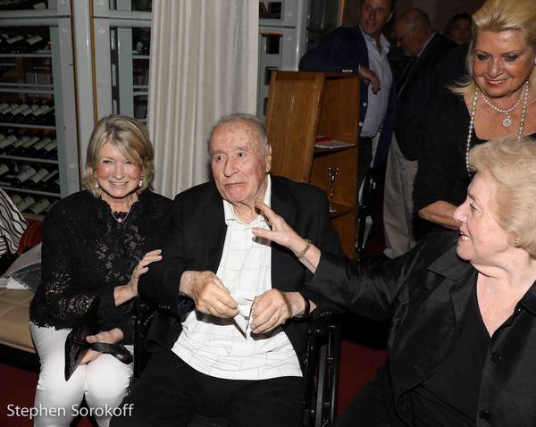 Martha Stewart, Sirio Maccioni, Egidiana Maccioni