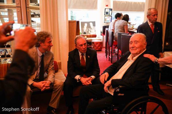Marco Maccioni, Mayor Michael Bloomberg, Sirio Maccioni Photo